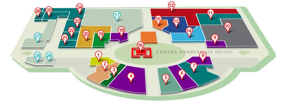 Mappa negozi